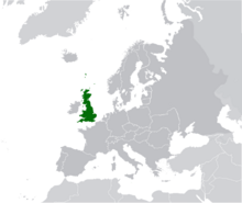 AMP Map of the United Kingdom VII
