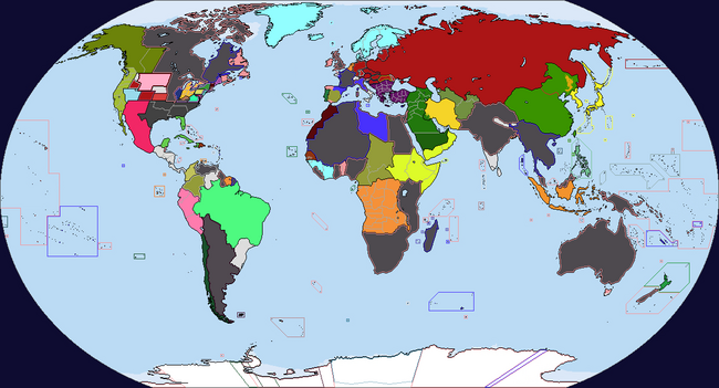 Diversa Pars Map Game 1939 Map