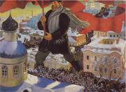 Kustodiev The Bolshevik