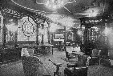 First Class Smoking Room