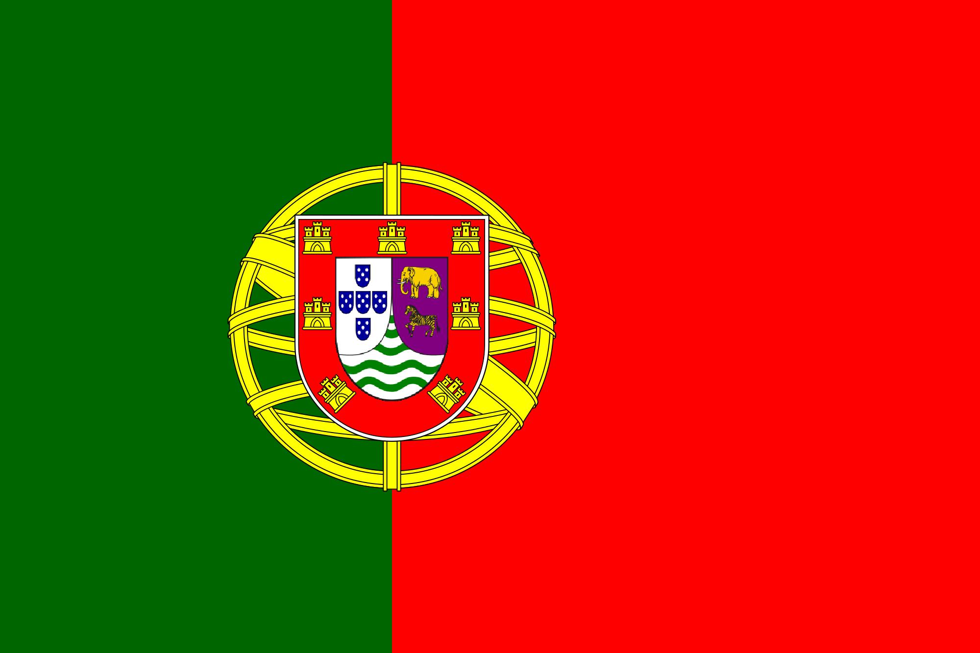 Portuguese Angola Flag