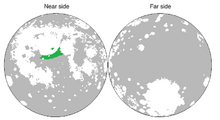 Location of Kangchenjunga (Luna Earth II)