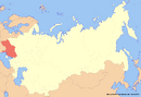 Location of Ukraine (New Union)