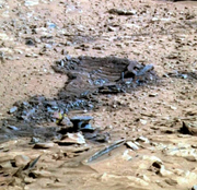 Mars Crashed Debris
