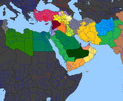 Cold Outbreak Middle East
