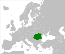 Location of Romania (This is the Dream)