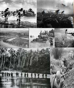 Reverse a Dragon, and a Titan (World War 2 Collage)