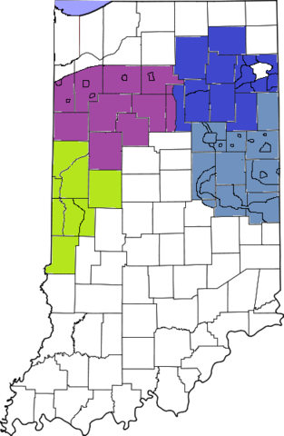 File:391px-Map of Indiana highlighting Lake County.png