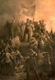 Hungarian Empire formed (Nat. 1848)