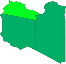 Tripolitania Map