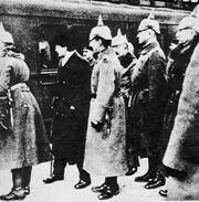 Германская делегация в Белграде