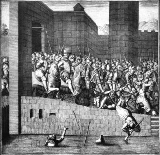 Entrance of Henry IV in Paris 22 March 1594