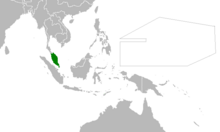 Location of Malaya (Myomi Republic)