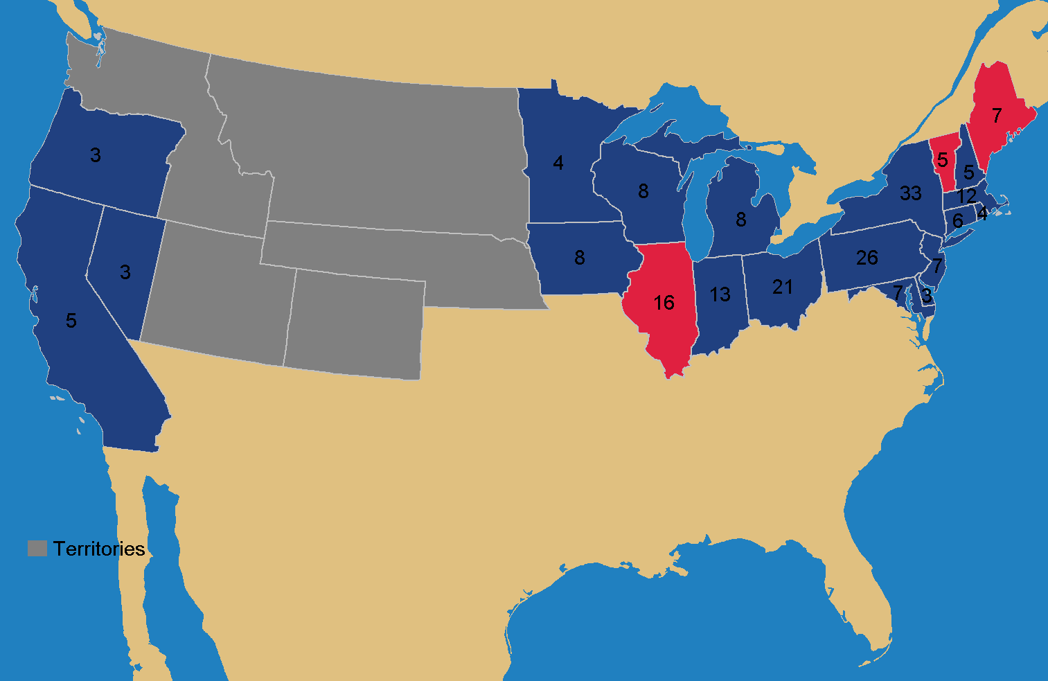 OTL Election Maps Resources Thread Page  Alternate History Ohio - Map us 81