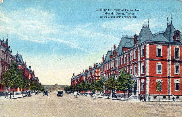 File:Marunouchi London Street 1920s.jpg