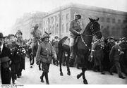 German Victory parade, 1915