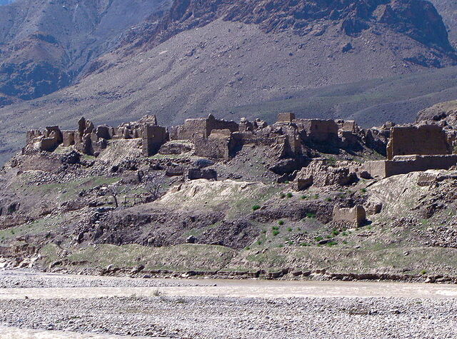 File:800px-Afghan village destroyed by the Soviets.jpg