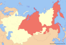 Location of Siberia (New Union)