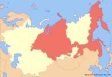 Location of Siberia (New Union)