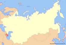 Location of Azerbaijan (New Union)
