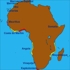African Colonies 1675 (VOE)
