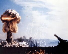 Nuclear Artillery Bombardment
