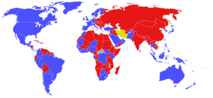 Cold War World Map (Awgustоwsky putsh)