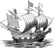Vinlandic 16th c Ship