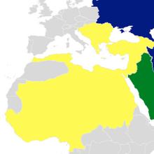 Egyptian Empire Map