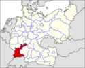 CV Map of Baden-Alsace