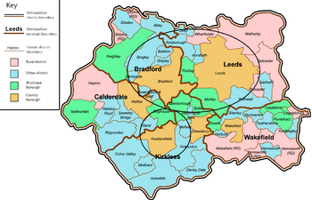 West Yorkshire Countyabandoned area