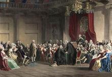 Benjamin Franklin in England
