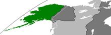 Location of Аляске