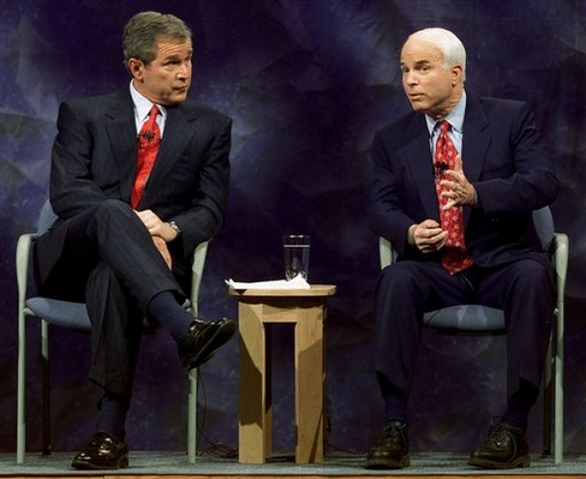 File:President McCain Bush Republican debate 2000.PNG