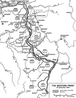 Western Front Ardennes 1944