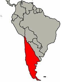 Chile & Patagonia Map