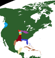 Map of North America 528