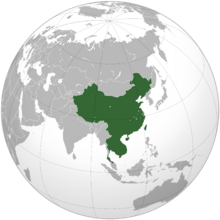 People's Republic of Asia (orthographic projection)