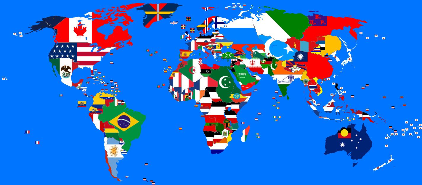 image flag map post ww2 alternative history fandom
