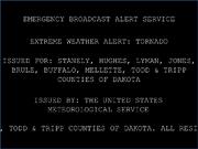 FTBW extreme weather alert EBAS system