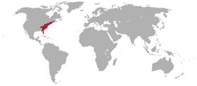 World location united states 1859
