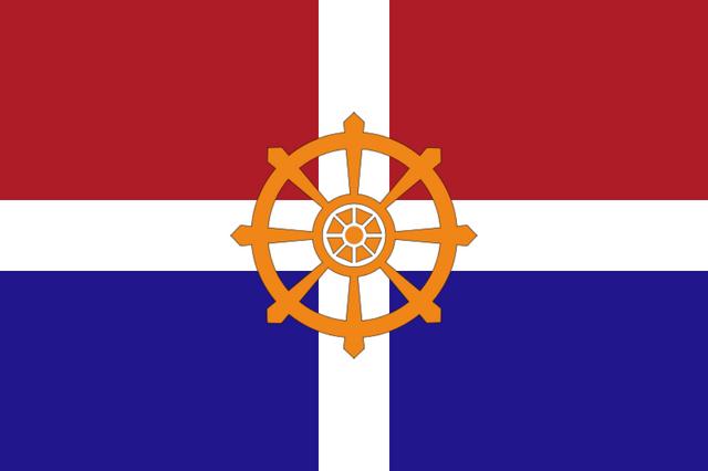 File:Flag of Dutch Saarland (Satomi Maiden ~ Third Power).png