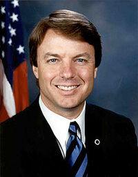John Edwards official Senate photo portrait