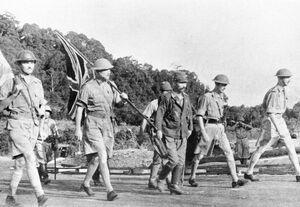 Surrender Singapore