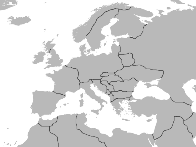 File:Map of Europe (1945).png
