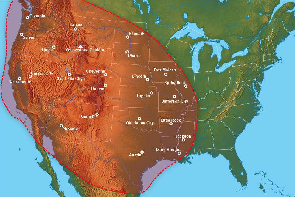 Yellowstone Eruption (Yellowstone: 1936) | Alternative History ...