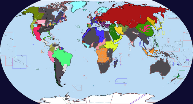 Diversa Pars Map Game 1944 Map