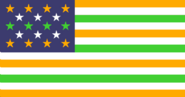 American-influenced Indian flag
