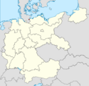 Locator map Lübeck in Germany (IM)