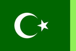 Flag of the Arab and Middel Eastern Alliance (AVARO).